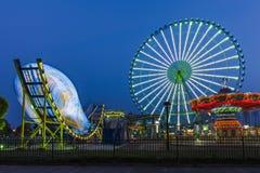 Het Reuzenrad in Suzhou, China Stock Afbeelding