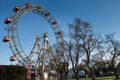 Het Reuzenrad van Wenen Stock Afbeeldingen