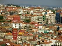 Het Ribeira District in Porto Stock Foto's