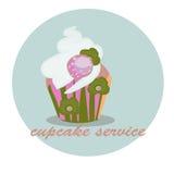Het richten zich cupcakes Stock Afbeelding