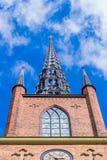 Het Riddarholm-Kerk vooraanzicht Royalty-vrije Stock Foto