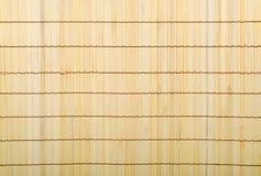 Het rieten hout van het textuurbamboe Royalty-vrije Stock Foto's