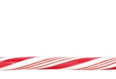 Het rietgrens van het suikergoed Stock Afbeeldingen