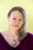 Het rijpe Portret van de Vrouw Stock Foto's