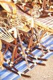 Het rijs van de mand is Thaise met de hand gemaakt het is geweven bamboetextuur voor achtergrond en ontwerp Traditionele Thaise g Royalty-vrije Stock Afbeeldingen
