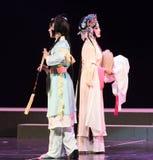 """Het rijtjes-Pioenpaviljoen--jiangxi opera""""four dromen van linchuan† Royalty-vrije Stock Afbeeldingen"""