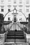 Het Rijtjeshuis van Londen stock afbeelding