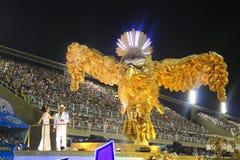 HET RIO DE JANEIRO VAN CARNAVAL - FEBRUARY20: Royalty-vrije Stock Foto's