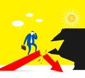 Het risico stock illustratie