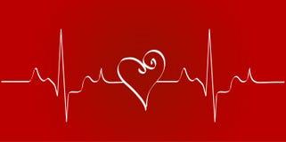 Het ritme van het hart royalty-vrije illustratie
