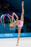 Het ritmische Kampioenschap van de Gymnastiekwereld Stock Fotografie