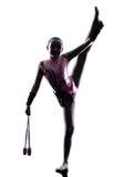 Het ritmische kind van het Gymnastiekmeisje Royalty-vrije Stock Foto's