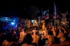 Het ritueel van Bali Stock Afbeeldingen