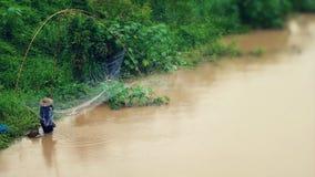 het rivieroeverleven in landen Royalty-vrije Stock Foto