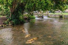 Het rivieroog bij Lagere Slachting stock afbeelding