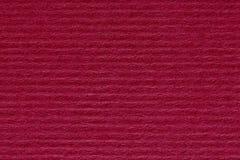 Het rode abstracte document achtergrond of karton van het streeppatroon textur Royalty-vrije Stock Fotografie