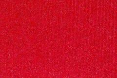Het rode abstracte document achtergrond of karton van het streeppatroon textur Stock Fotografie