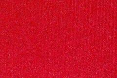 Het rode abstracte document achtergrond of karton van het streeppatroon textur Royalty-vrije Stock Foto's