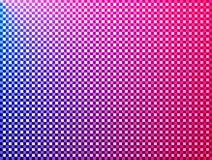 Het rode blauwe roze viooltje van vierkanten royalty-vrije illustratie