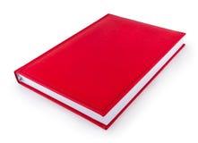 Het rode boek van de organisator royalty-vrije stock afbeeldingen