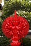 Het rode duizend beeld van handenboedha voor patroon Royalty-vrije Stock Foto's