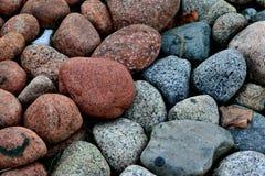 Het rode en grijze stenen betegelen Stock Afbeeldingen