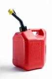 Het rode Gas kan Stock Afbeelding