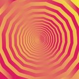 Het rode Gele Gezoem van de Cirkelkleur binnen Royalty-vrije Stock Afbeeldingen