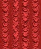 het rode gordijn van het fluweeltheater   Royalty-vrije Stock Afbeeldingen