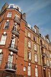 Het rode Herenhuis van de Baksteen, Londen Royalty-vrije Stock Afbeelding
