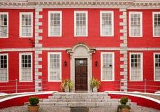 Het rode Huis Youghal ierland Stock Afbeelding