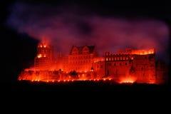 Het Rode Kasteel van Heidelberg Royalty-vrije Stock Afbeelding