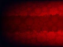 Het rode malplaatje van de Kerstmiskaart. EPS 8 Royalty-vrije Stock Afbeeldingen