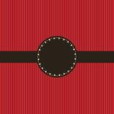 Het rode ontwerp van de uitnodigingskaart Royalty-vrije Stock Foto