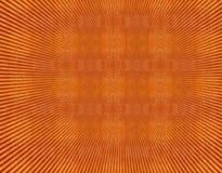 Het rode oranje behang van het grunge uitstekende patroon stock illustratie