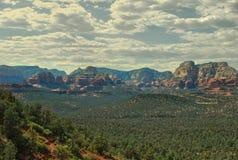Het rode park van de rotsstaat, sedona, Arizona, de V.S. stock foto