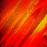 Het rode schilderen stock afbeelding