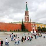 Het Rode Vierkant in Moskou, Rusland Stock Foto's