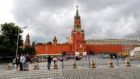 Het rode Vierkant in Moskou, Rusland Royalty-vrije Stock Foto's