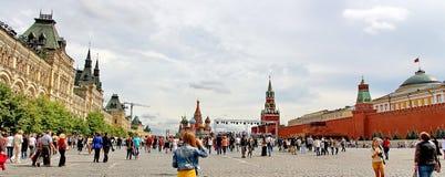 Het Rode Vierkant in Moskou, Rusland Royalty-vrije Stock Afbeeldingen