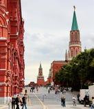 Het rode Vierkant in Moskou, Rusland Royalty-vrije Stock Fotografie