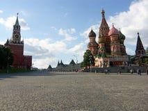 Het rode vierkant van het Kremlin royalty-vrije stock fotografie