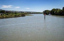 Het roeien van de Naparivier stock foto's