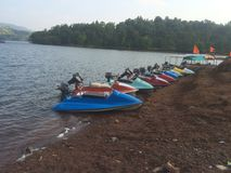 Het roeien van het snelheidswater Royalty-vrije Stock Foto