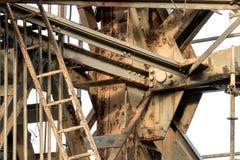 Het roesten Grunge Crane Textures Royalty-vrije Stock Afbeelding