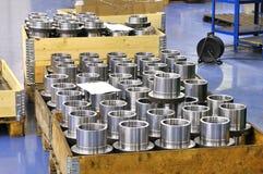 Het roestvrij staal van Manufactory stock foto