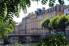 Het Rohan-paleis in Straatsburg Stock Fotografie