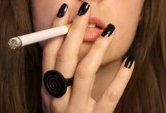 Het roken Stock Foto