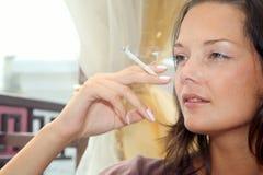 Het roken Stock Foto's