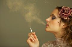 Het roken Stock Afbeelding